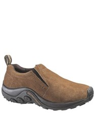 Merrell Suede Jungle Moc Loafers Brown