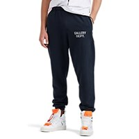 Gallery Department Logo Cotton Fleece Sweatpants Black