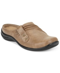 Easy Street Shoes Easy Street Holly Comfort Clogs Women's Shoes Stone