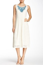 Robbie Bee Lace Dress White