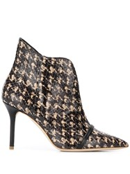Malone Souliers Cora Patterned Booties 60