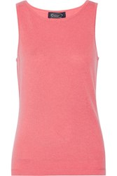 Magaschoni Cashmere Tank Pink