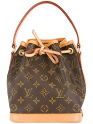 Louis Vuitton Vintage Mini Noe Monogram Handbag Brown