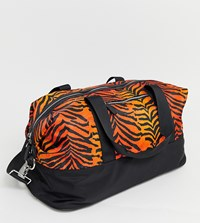 Skinnydip Corrine Orange Tiger Gym Bag