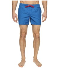 Lacoste Taffeta Swimming Trunk Sapphire Blue Red Men's Swimwear