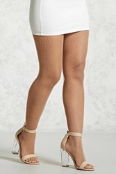 Forever 21 Dash Fishnet Tights Nude