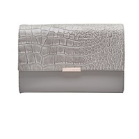 Ted Baker Lotte Leather Across Body Bag Grey