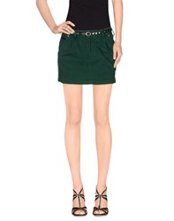 Maison Scotch Skirts Mini Skirts Women Emerald Green