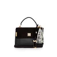 River Island Womens Black Tassel Handbag