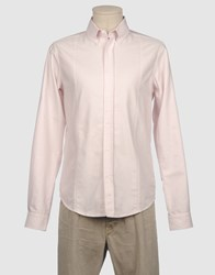 G750g Shirts Long Sleeve Shirts Men Light Pink