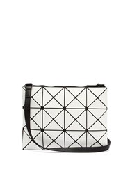 Bao Bao Issey Miyake Lucent Cross Body Bag White