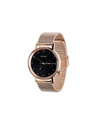 Komono 'The Walther' Watch Pink Gold