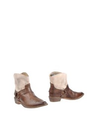 Mr. Wolf Ankle Boots Dark Brown