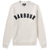 Barbour Prep Logo Crew Sweat Neutrals
