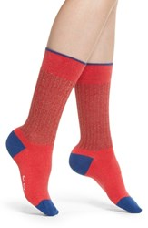 Paul Smith Honrata Rib Socks Red