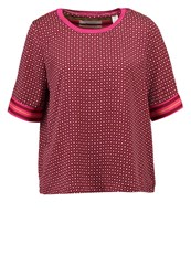 Scotch And Soda Print Tshirt Combo Red