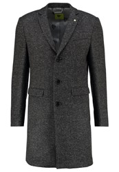 Noose And Monkey Hinton Short Coat Charcole Anthracite