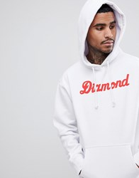 Diamond Supply Co. Hoodie With Logo White