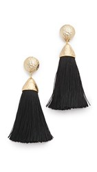 Rosantica Mini Teatro Earrings Black