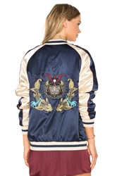 Standard Issue Samurai Bomber Jacket Blue