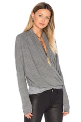 Nsf Maje Long Sleeve Top Gray
