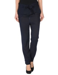 Hope Collection Casual Pants Dark Blue