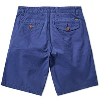 Barbour Neuston Twill Short Blue