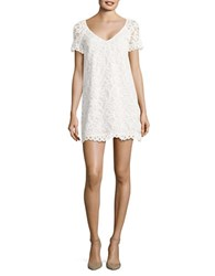 Bb Dakota Lace Shift Dress Ivory
