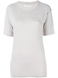 Etoile Isabel Marant A Toile 'Keiran' T Shirt Nude And Neutrals