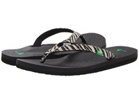 Sanuk Yoga Joy Exotic Zebra Women's Sandals Animal Print