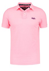 Superdry Polo Shirt Fluro Pink Grindle