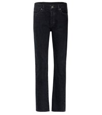 Gold Sign The Relaxed Straight Jeans Black