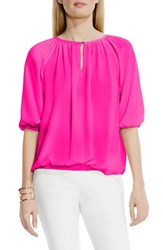Women's Vince Camuto Peasant Blouse Pop Pink