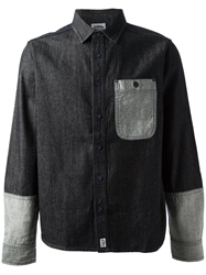 Billionaire Boys Club 'Trucker' Shirt Blue