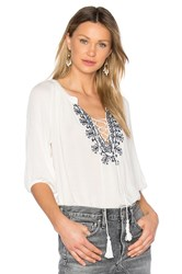 Heartloom Eliza Top White