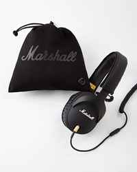 Bergdorf Goodman Marshall Monitor Over Ear Headphones Black