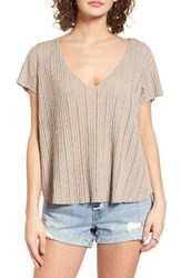 Project Social T Women's Ribbed Tee