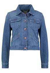 Wrangler Denim Jacket Retro Vibes Stone Blue Denim