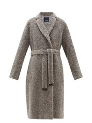 Max Mara S Agiato Coat Grey