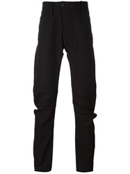 Lost And Found Ria Dunn 'Askew' Slim Trousers Black