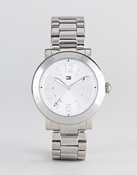 Tommy Hilfiger Aubrey Watch In Silver