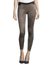 Romeo And Juliet Couture Mini Pebble Print Ankle Leggings Natural
