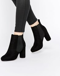 Asos Enough Said Chelsea Ankle Boots Black