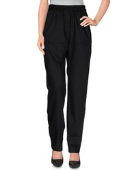 Wood Wood Woodwood Trousers Casual Trousers Women Black