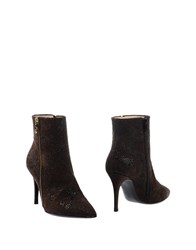 Lerre Ankle Boots Dark Brown