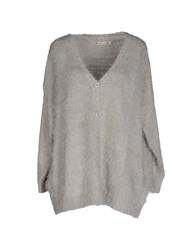 Red Soul Knitwear Cardigans Women Light Grey