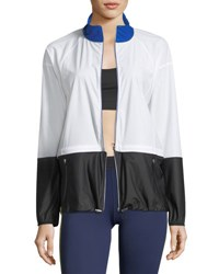 Monreal London Action Wind Resistant Performance Jacket White