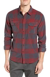 Gramicci Men's Knock On My Door Regular Fit Check Corduroy Shirt