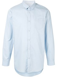 Loveless Chest Pocket Shirt Blue