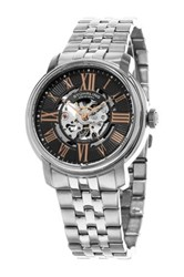 Stuhrling Men's Atrium 812 Automatic Watch Gray